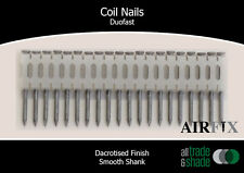 Coil Nails - Duofast - Dacrotised - Smooth - Length: 50mm x 2.5mm - Box: 7,200