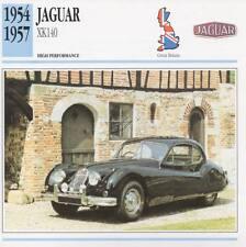 1954-1957 JAGUAR XK140 Classic Car Photo/Info Maxi Card