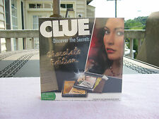 "Hasbro ""Clue Discover the Secrets Chocolate Edition"" 2008~New & Factory Sealed"