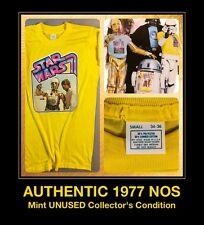 ORIG 1977 UNWORN NOS Luke Skywalker C-3PO Star Wars Han Solo Story VTG T-Shirt