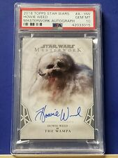 Star Wars Masterwork 2018 Autograph Card Howie Weed as The Wampa