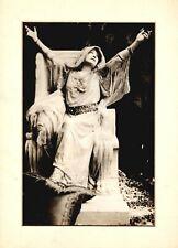 SARAH BERNHARDT original photograph as Phedre