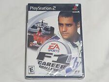 NEW F1 Career Challenge Playstation 2 Game SEALED PS2 EA Formula One US NTSC