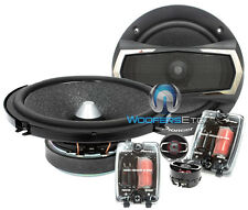 "PIONEER TS-A1605C CAR 6.5"" AUDIO 350W COMPONENT SPEAKERS CROSSOVERS TWEETERS NEW"