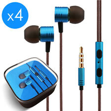 4-Pack In-Ear Earphones Headphone 3.5mm for Samsung iPod MP3 MP4 PC iPhone Music