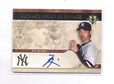 2007 Ultimate Write Of Passage Kei Igawa Auto #47/60 Yankees Autograph