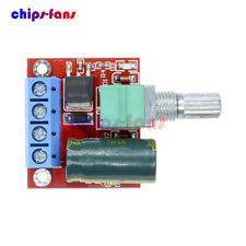 4.5V~35V 5V 6V 12V 24V 5A Mini PWM DC Motor Speed Controller Switch LED Dimmer