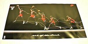 Michael Jordan 1992 Nike Art of the Dunk Poster 20x16