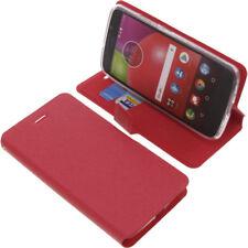 Funda para Lenovo / Motorola Moto E4 Book Style protectoras Móviles Libro Rojo