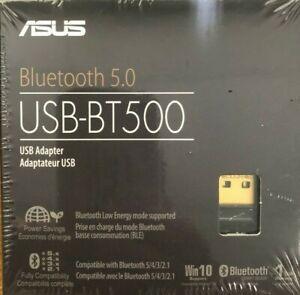 ASUS - USB-BT500 - Bluetooth 5.0 Smart Ready USB Adapter - Black