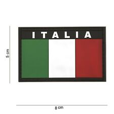 Italien Italia Patch Klett Abzeichen Airsoft Paintball Softair