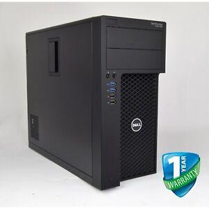 DELL PRECISION 3620 Mini-Tower E3 v5 32GB RAM 128GB 256GB SSD Quadro GPU