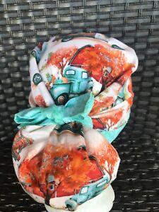 Fall 🍂🍁 ponytail surgical nurses Cap Scrub Hat Womens USA🇺🇸 Made 100% Cotton