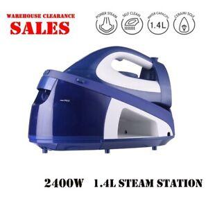 Premium Smith+Nobel 2400W 1.4L Steam Station Iron Ceramic 4 Bar Pressure