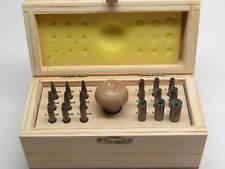 18 Stone Setting Burnisher Set Jewelers Tools Bezel Pusher