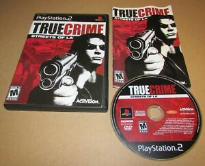 True Crime: Streets of L.A. for Playstation 2 PS2 Complete Fast Shipping!