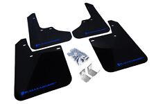 Rally Armor Mud Flaps Guards for 93-01 Subaru Impreza (Black w/Blue Logo)
