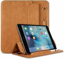 Apple iPad Mini 5th Gen 2019 Case Leather Folio Cover W/ Apple Pencil Holder