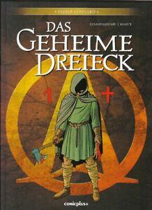 Das Geheime Dreieck Gesamtausgabe Nr. 5 Hardcover Comic von Didier Convard Z 1