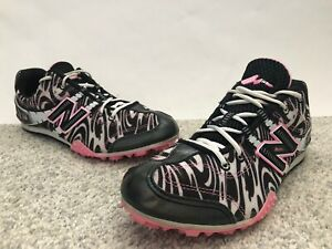 WOMENS NEW BALANCE MD506ZP Pink And Black TRACK & FIELD SPIKE SHOES SIZE 9 1/2
