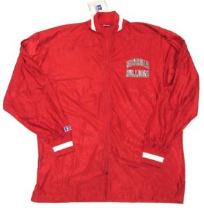 NWT Russell ATHLETIC Georgia Bulldogs Red Warm Up NCAA Athletic Jacket Size 46