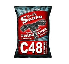 Double Snake C 48 Turbo Yeast, alcohol, spirit, wine, beer, up to 21% Alkohol