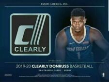2019-20 Panini Clearly Donruss Basketball Hobby Box Pre Order Sell Sale 11/4