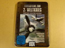 2-DISC METAL CASE DVD / KRIEGSFILME ZUM 2. WELTKRIEG - CHURCHILLS LEOPARDEN ....