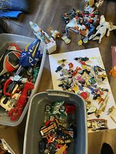 Mighty Morphin POWER RANGERS lot Figures, Motorcycles, Dragon, Mega And MORE!