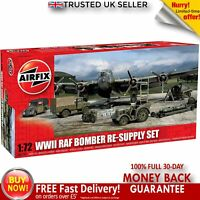 Airfix A05330 1:72 WWII RAF Bomber Re-Supply Dioramas Buildings Model Set Kit