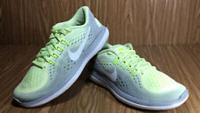 Nike Flex 2017 Run Athletic Shoes Sneakers Grey & Yellow Size 6 M