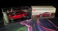 NEW Genuine Tesla Model 3 Burago Diecast Diorama 1:43 Gift Electric Car SXY OEM