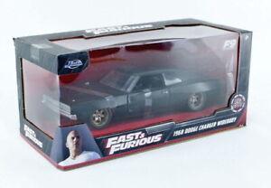 Dom's 1968 Dodge Charger Widebody Fast 9 Black 1:24 (Jada 32614)
