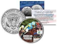 AMERICAN PHAROAH 2015 Triple Crown Winner JFK Half Dollar Coin - RARE TEST ISSUE