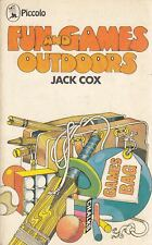Fun and Games Outdoors - Jack Cox - Macmillan - Acceptable - Paperback
