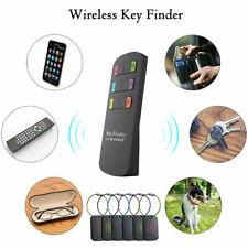 Wireless Tracker Anti-lost Alarm 6 in 1 Wallets Pet Key Locator Rf Remote Finder