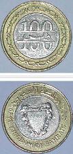BAHARAIN  100 FILS 24mm BI-METAL  COIN 1pcs