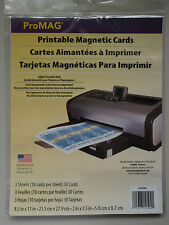 4X 30-Pack Promag Inkjet Printable Magnetic Card Glossy Promote Advertisement