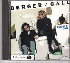 (DM21) Berger Gall, Double Jeu - 1992 CD