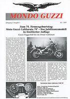 Mondo Guzzi Prospekt 1997 5/97 Kundenzeitschrift brochure prospetto prospectus