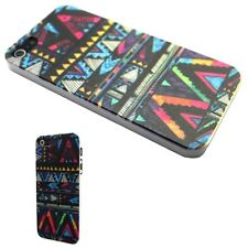IPHONE Shell 4/4S 5/5S Or 5C Pattern Aztec Abstract Art Case Cover