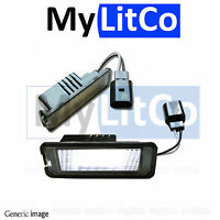 Rear License Number Plate Light LED Lamps Replace OEM Assembly Holder with bulbs