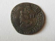 1625-1649 Silver Twopence Rare Silver COIN / TOKEN