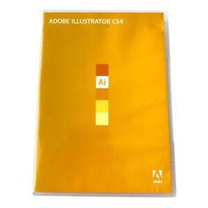Adobe Illustrator CS4: Mac OS Full Retail Version USED w/ serial number 2008