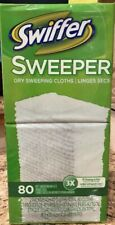 Swiffer - Sweeper Dry Cloth Refills Bigger 80 count Box, New sealed!