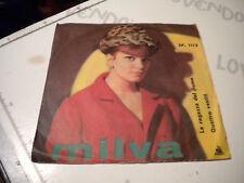 LP 45 7'' MILVA La ragazza del fiume - Quattro vestiti 1962 italy CETRA no cd mc