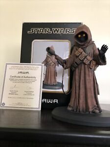 Attakus Star Wars Jawa Limited Edition 1294/1500 W/ COA
