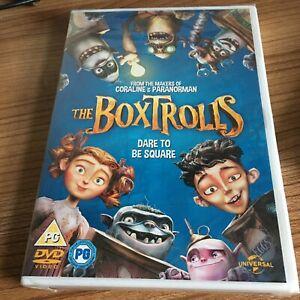 The Boxtrolls DVD (2016) NEW/SEALED Isaac Hempstead-Wright Cert PG Region 2 UK