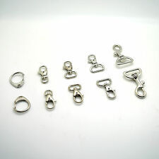Lobster Clasps Swivel Trigger Clips Snap Hooks Bag Key Ring Charms Findings New