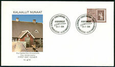 Used First Day Cover Greenlandic Stamps